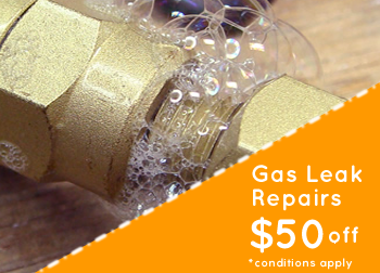 Gas Leak Detection & Repairs