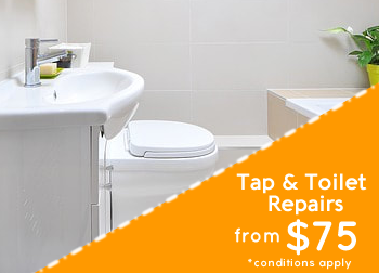 Tap and Toilet Repairs Sydney