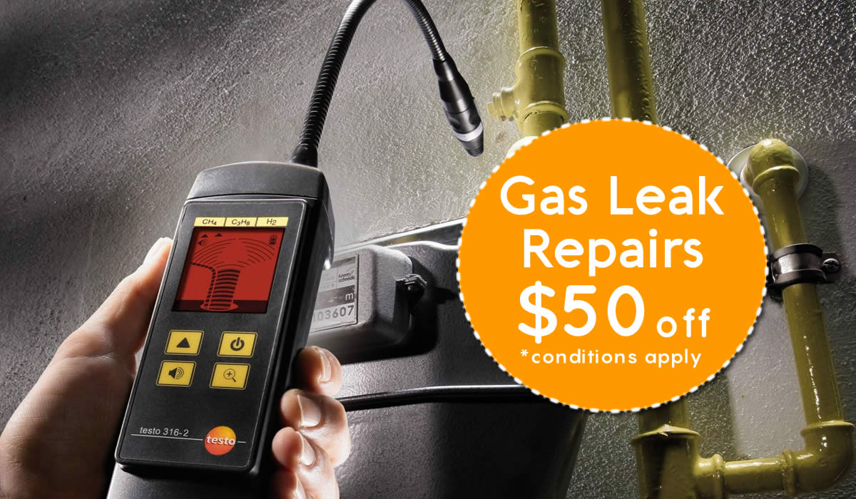 Gas Leak Detection and Repairs